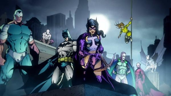 dc comics batgirl huntress dc universe online 1920x1080 wallpaper 600x337