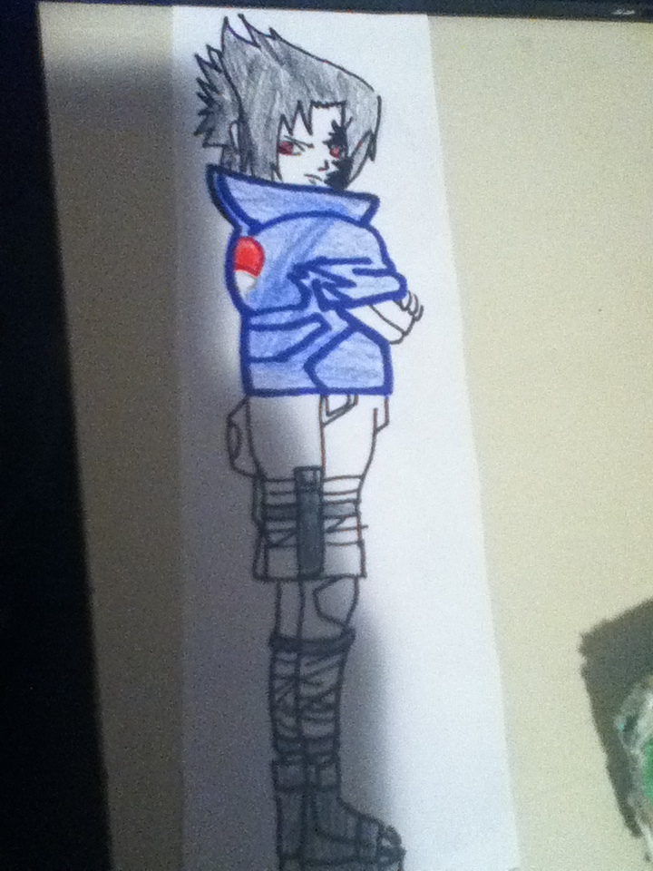 Sasuke Uchiha Curse Mark by Sasuke4162000 720x960