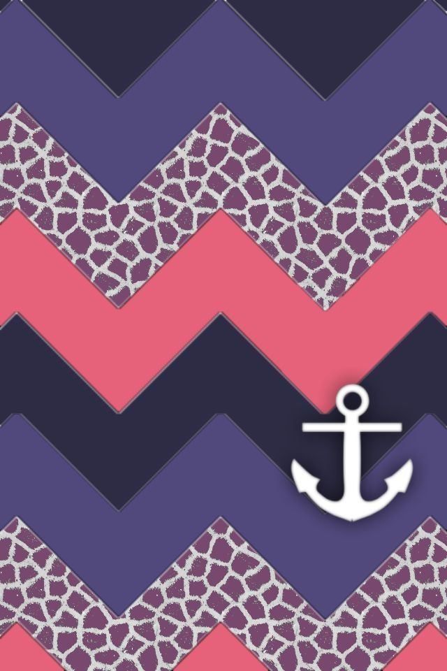 chevron anchor wallpaper Purple Wallpapers Iphone Chevron Wallpaper 640x960