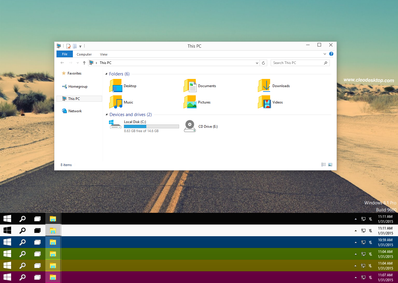 Free Download Windows 10 Tp Color Full Theme For Windows 81