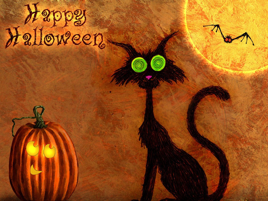 Free Download Halloween Wallpaper Backgrounds Funny Gif Pictures 1024x768 For Your Desktop Mobile Tablet Explore 39 Cute Cat Halloween Wallpaper Cute Halloween Desktop Wallpaper Cheshire Cat Live Wallpaper Black
