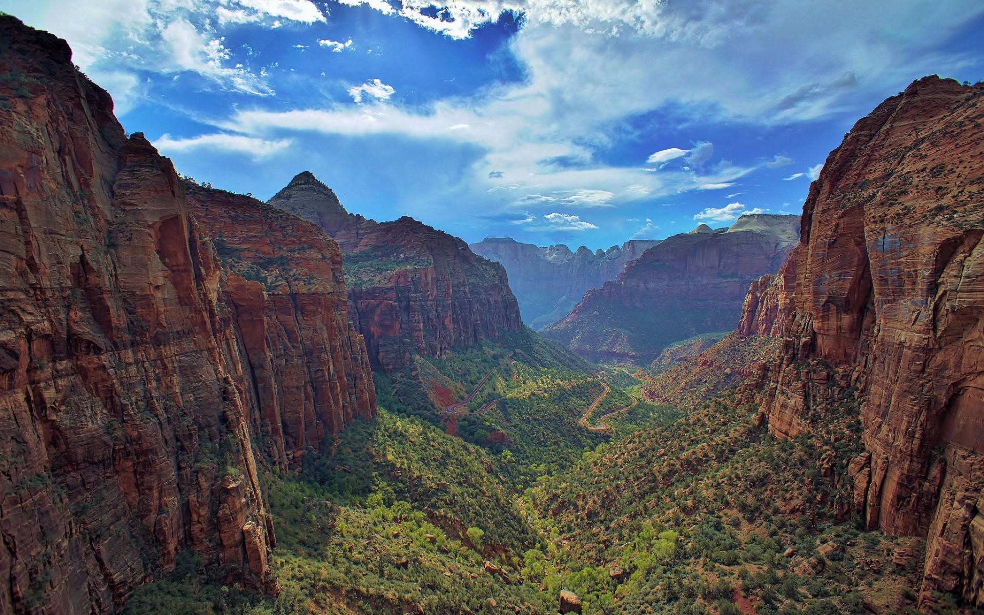 zion national park Computer Wallpapers Desktop Backgrounds 1920x1200