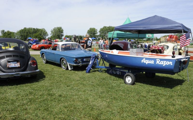 Funfest For Air Cooled Vw 2012 Towing Boat Photo 105 799x499