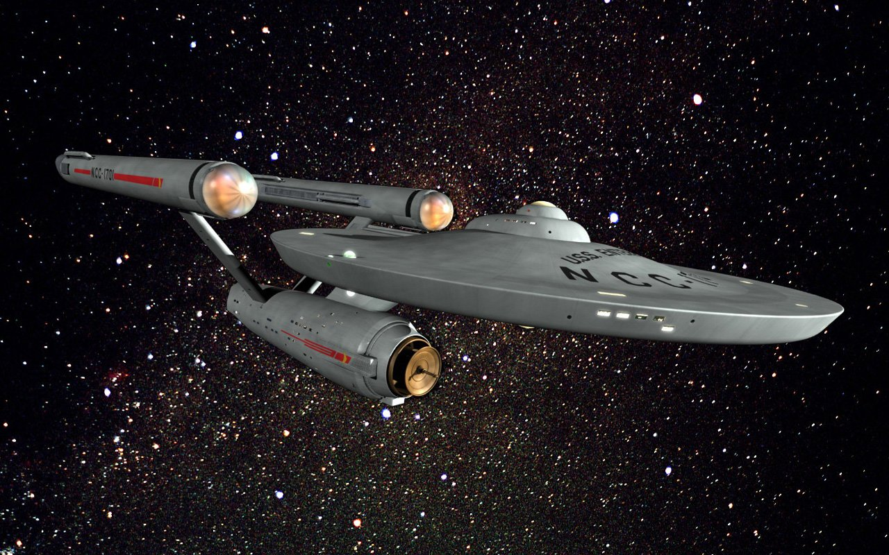 The replacement Enterprise circa Star Trek V NCC 1701 A 1280x800