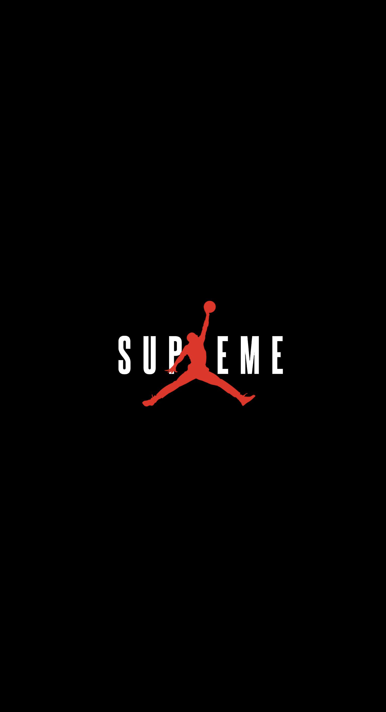 Supreme x Jordan Wallpaper streetwear 1534x2824