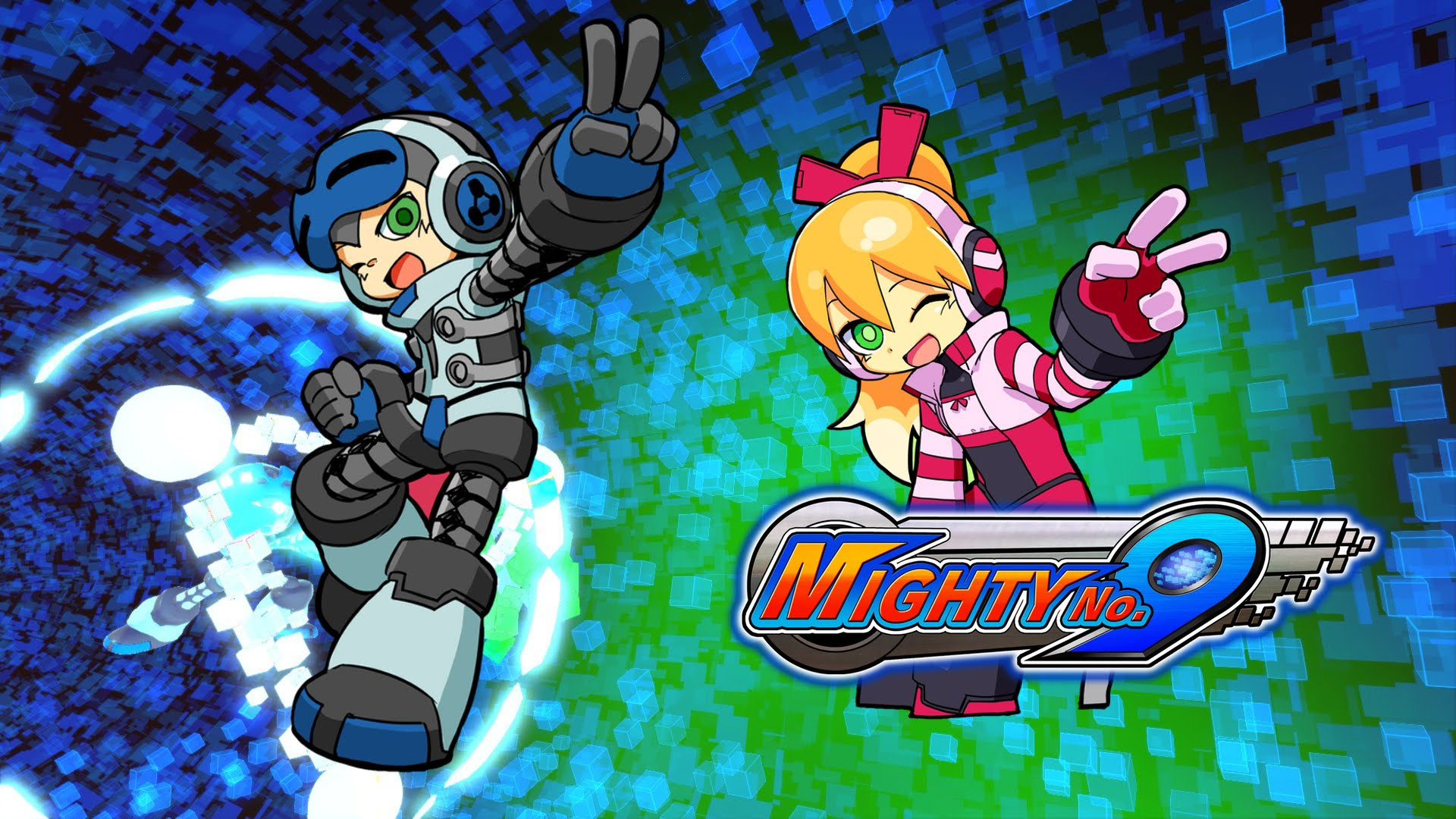 Mighty No 9 Wallpapers in Ultra HD 4K 1920x1080