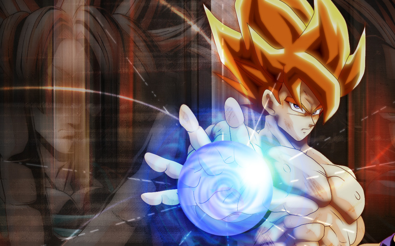 Dragon Ball Z Goku Super Saiyan Wallpaper HD 4460 Wallpaper 1280x800