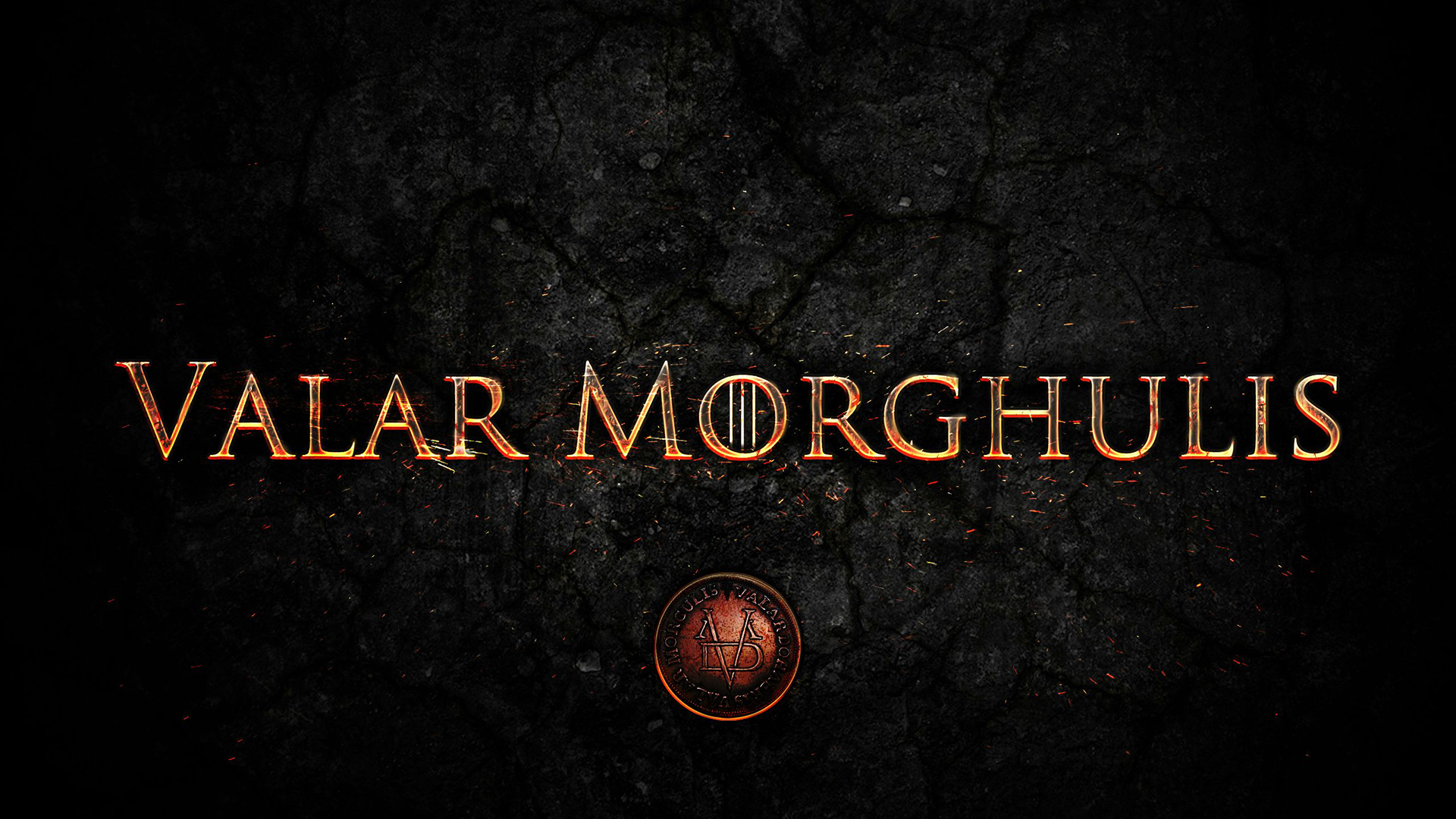 Game Of Thrones Symbols TV Shows Valar Morghulis WallDevil   Best 1920x1080