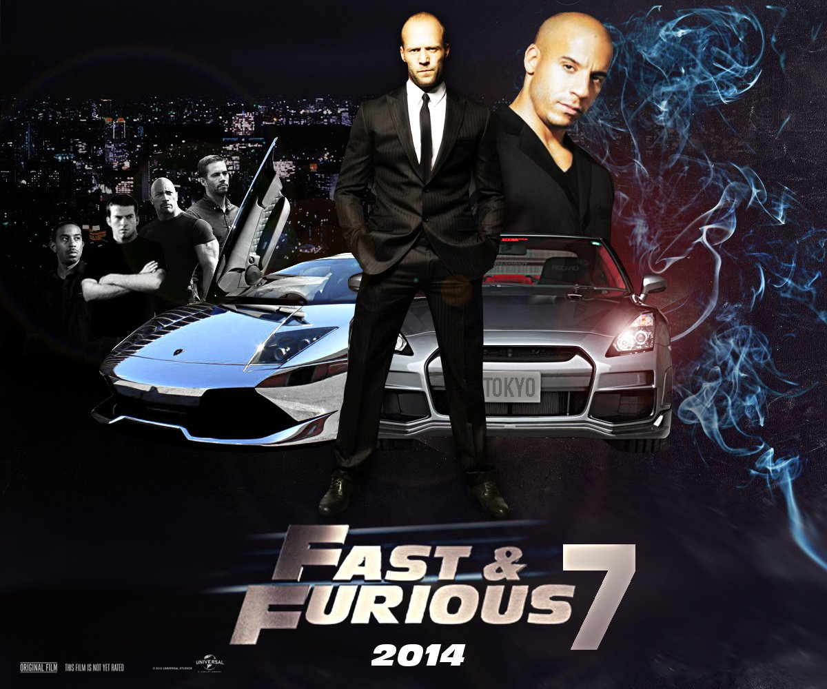 Fast and Furious 7 Wallpapers New Movies Collections 1200x1000