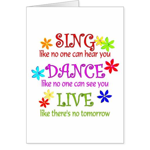 sing dance live greeting cards r9bcc08d956f649c9973bf151a15141e7 xvuat 512x512