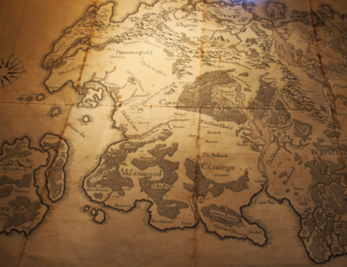 Tamriel Map Heatherman Creatives 1200x923