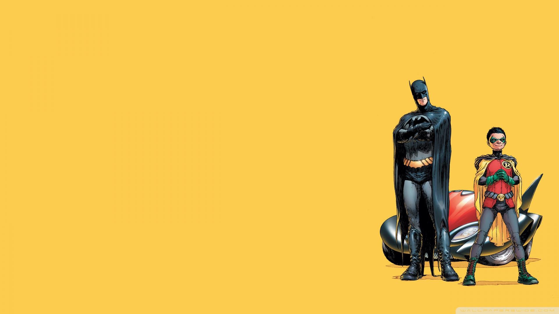 Batman And Robin Cartoon Wallpaper 1920x1080 Batman And Robin 1920x1080