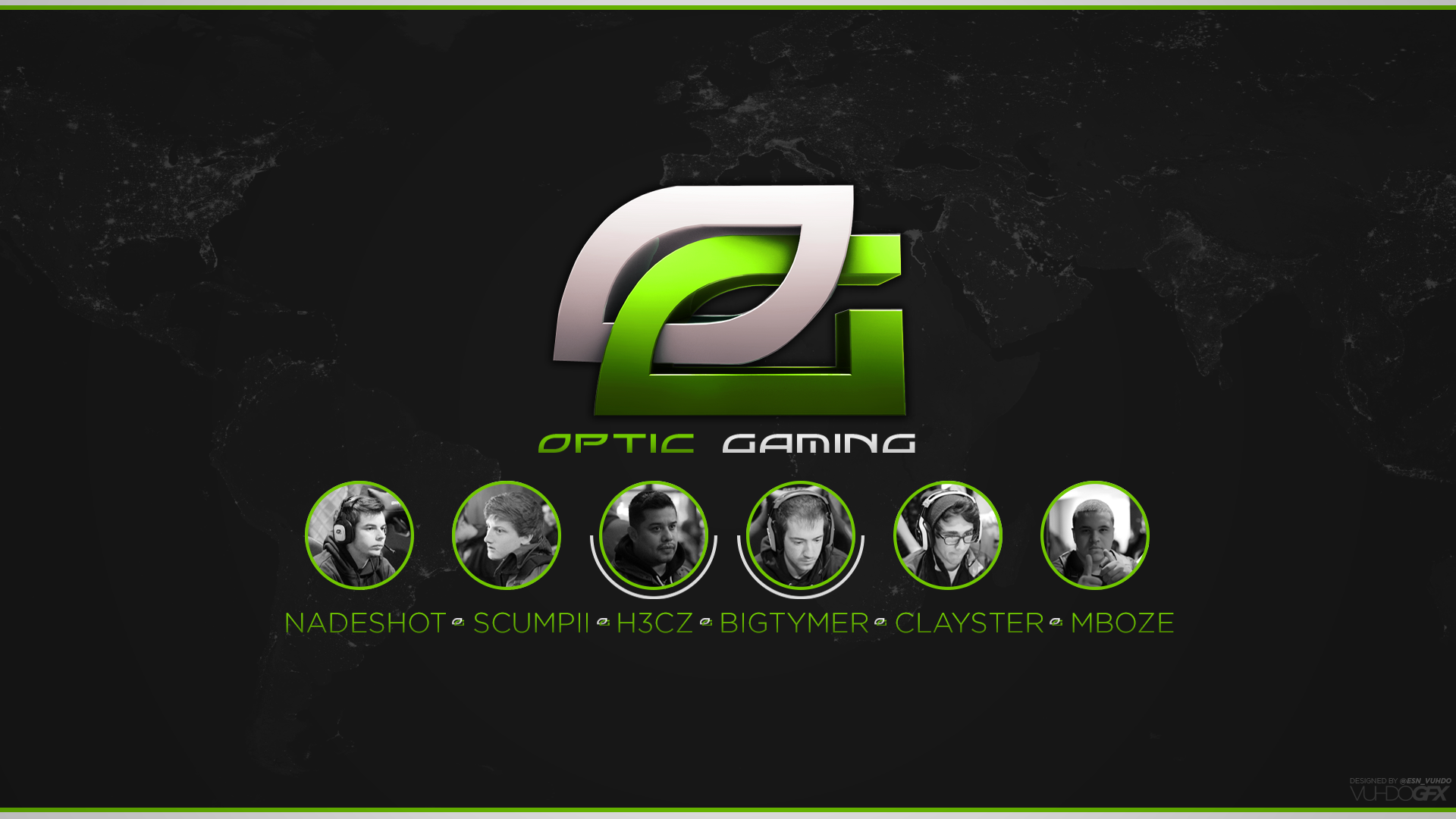 Optic Gaming Logo Wallpaper Hd Desktop backgrounds   vuhdo 1920x1080