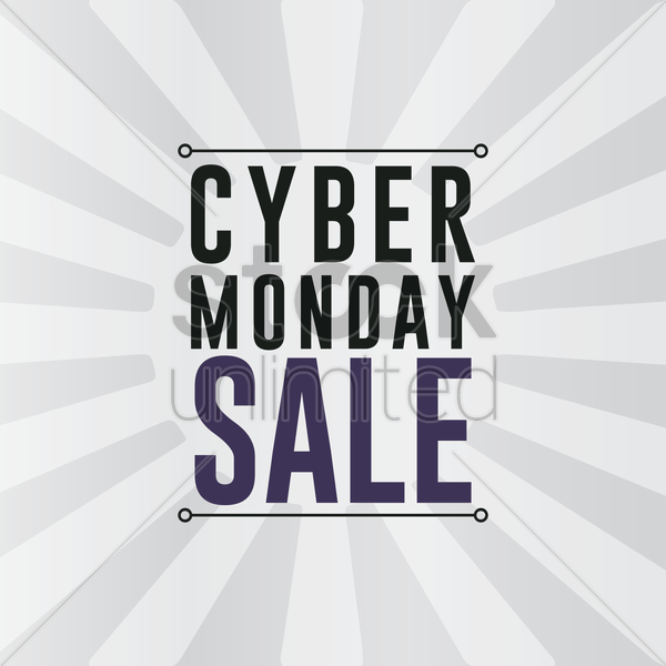 Cyber monday sale wallpaper Vector Clipart   1613176 StockUnlimited 600x600