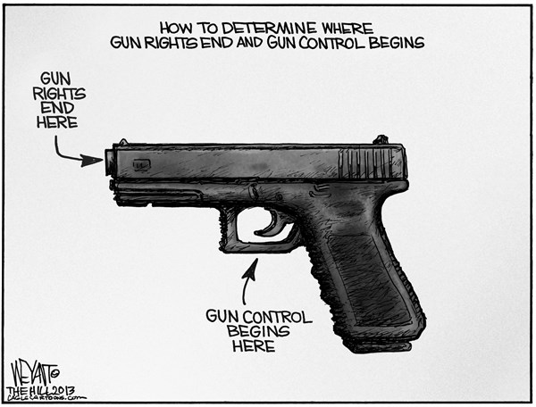 Gun Rights Beginning and End Christopher WeyantThe Hillgun rights 600x456