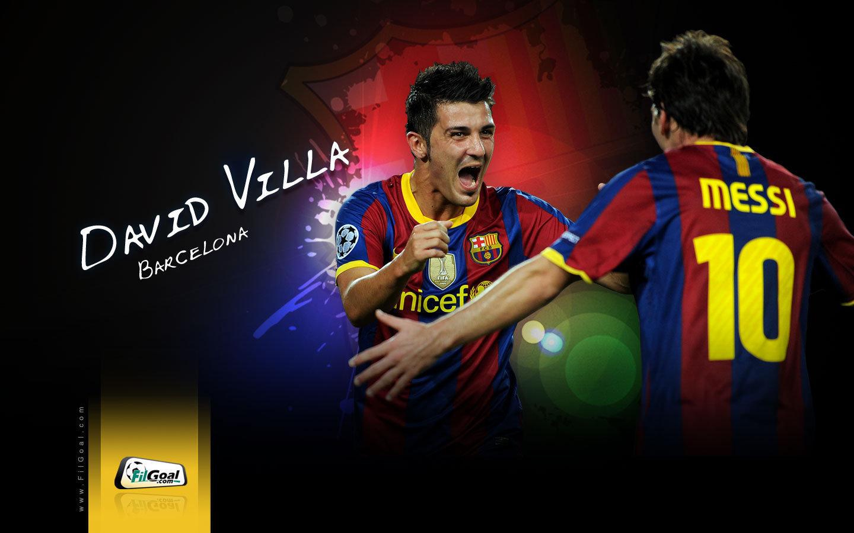 David Villa FC Barcelona Wallpaper   David Villa Wallpaper 22594984 1440x900