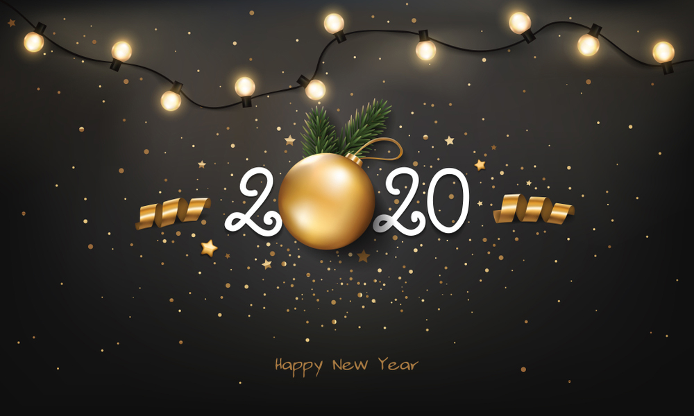Happy New Year 2020 Wallpapers 1000x600