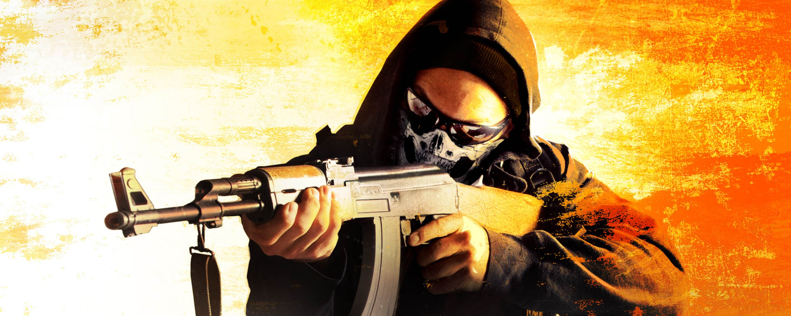 counter strike global offensive art anarchist game card steam cs go 2560x1024