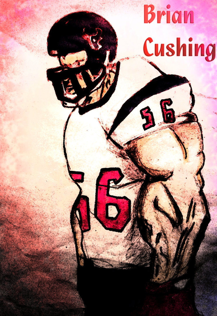 Brian Cushing Wallpaper Brian cushing by kingartist86 741x1078
