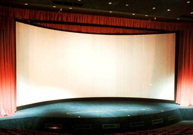 Movie Theatre Screen Background Cinerama theater screen 638x447
