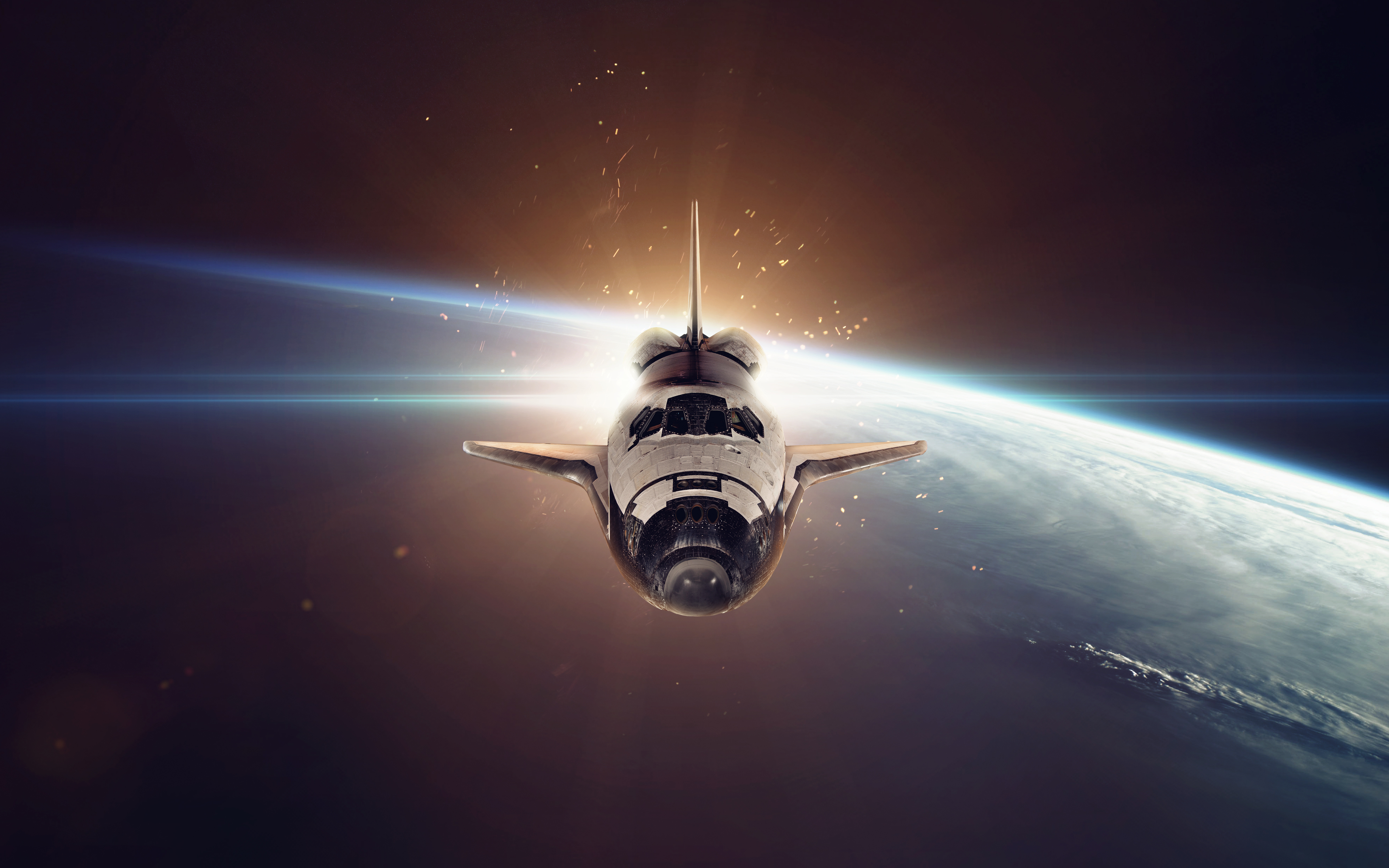 108 Space Shuttle HD Wallpapers Background Images 5200x3250