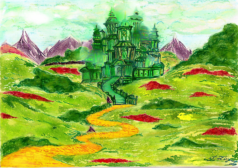 Emerald City Wallpaper Emerald 2224x1573