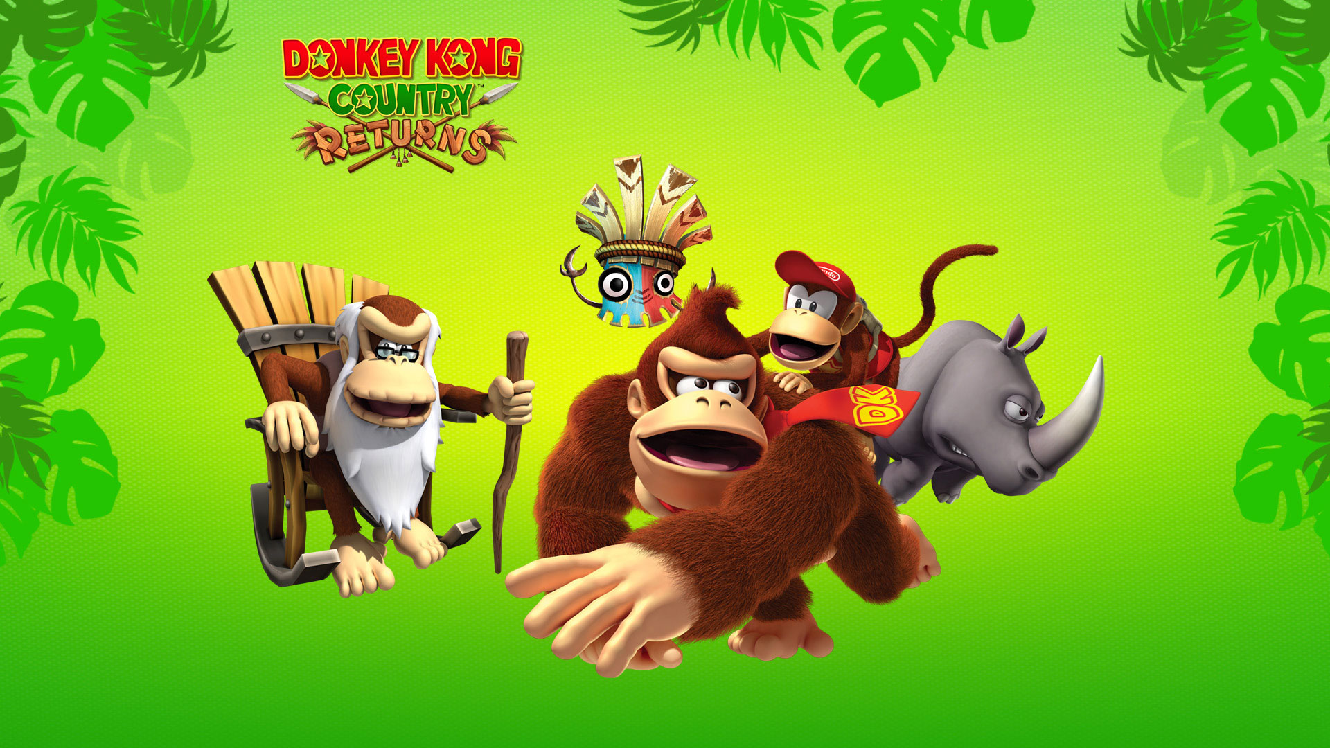 Free Download Donkey Kong Country Returns 1080p Wallpaper Donkey