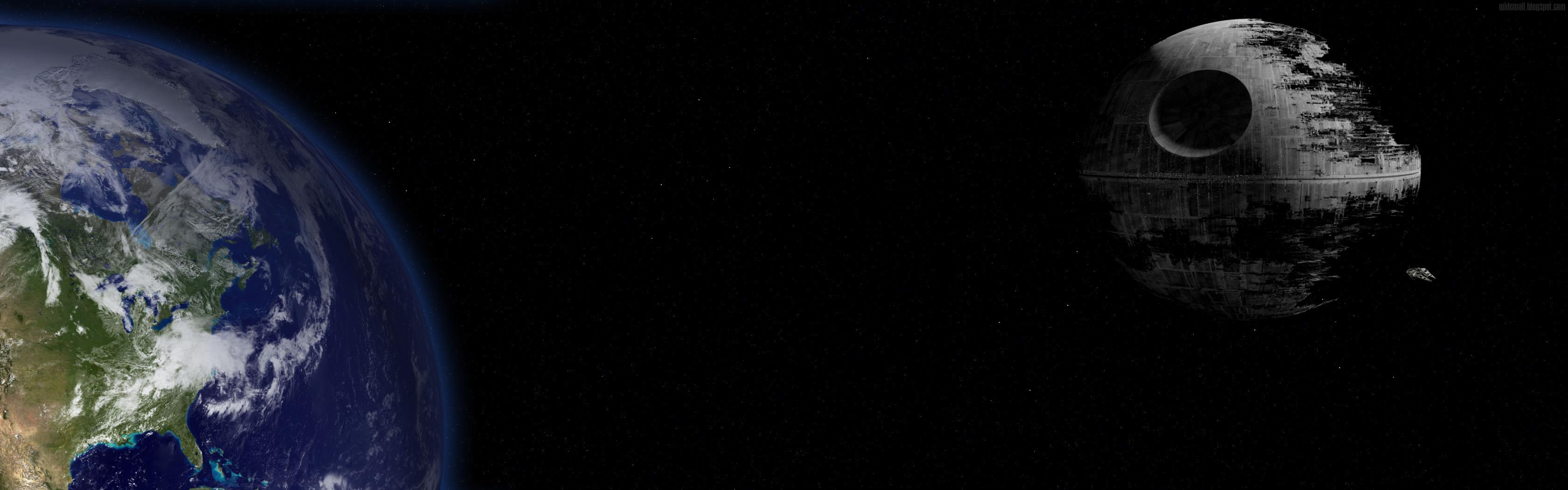 Death Star Wallpaper 3360x1050 ID19229   WallpaperVortexcom 3360x1050