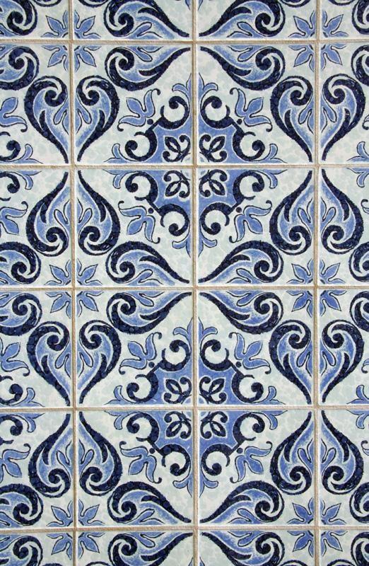 45 Blue Tile Wallpaper On Wallpapersafari