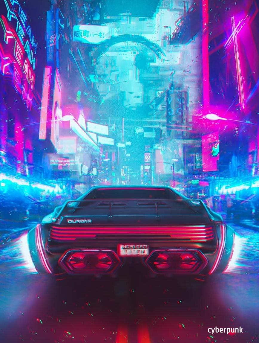 Cyberpunk 2077 Cyberpunk aesthetic Cyberpunk city Futuristic art 867x1147