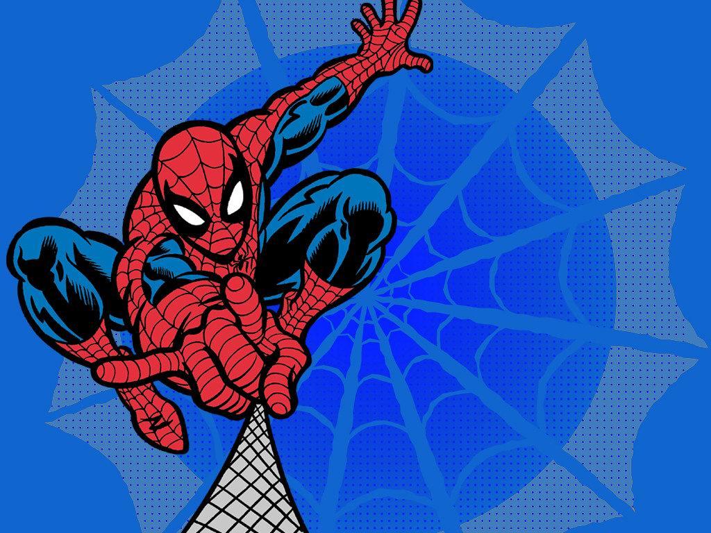 Spiderman Cartoon Wallpapers - WallpaperSafari