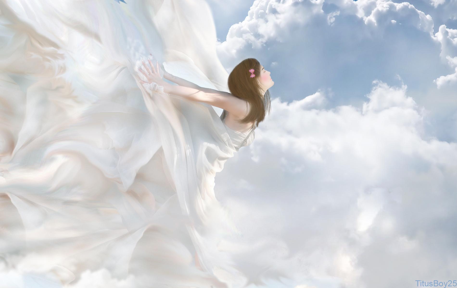 Ангелы в небе  № 2270221 без смс
