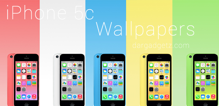 Color Matching Wallpapers for iPhone 5c Clean Simple DarGadgetZ 700x340