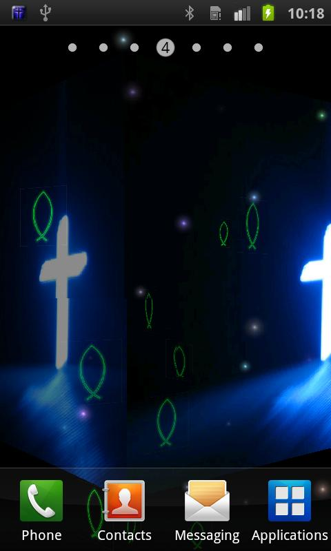 Jesus Cross Live Wallpaper   Aplicaciones de Android en Google 480x800