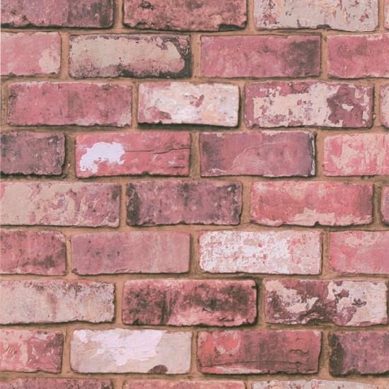 Brick wallpaper from Freemans Bathroom wallpapers Bathroom 550x550