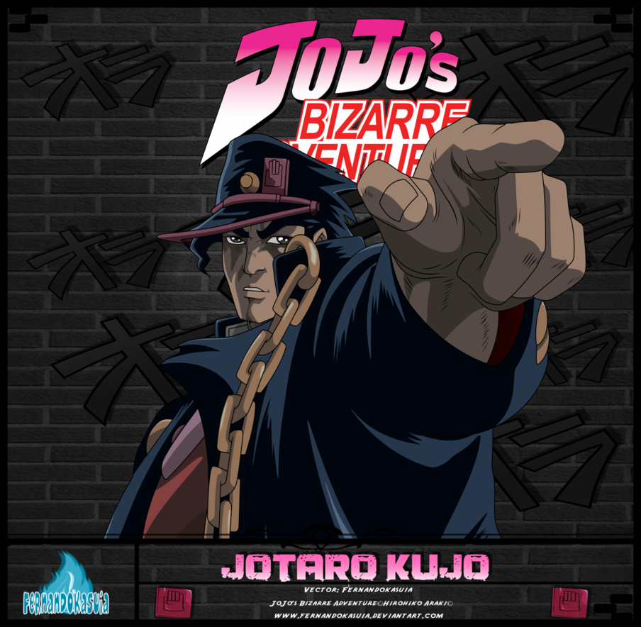 Jotaro Kujo Por Fernandokasuia 02 by fernandokasuia 904x884