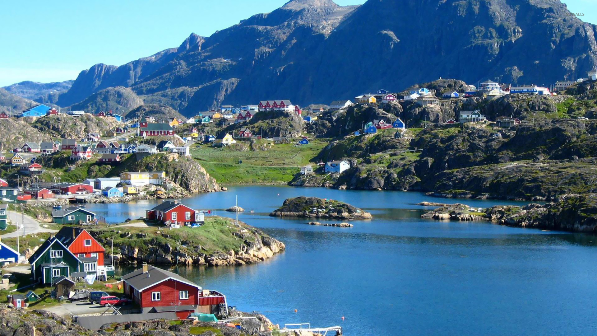 Download Nuuk Greenland Wallpaper World Wallpapers 25535 1920x1080