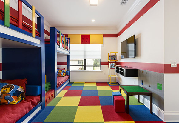 10 Best Kids Bedroom With Lego Themes Home Design And Interior 600x412