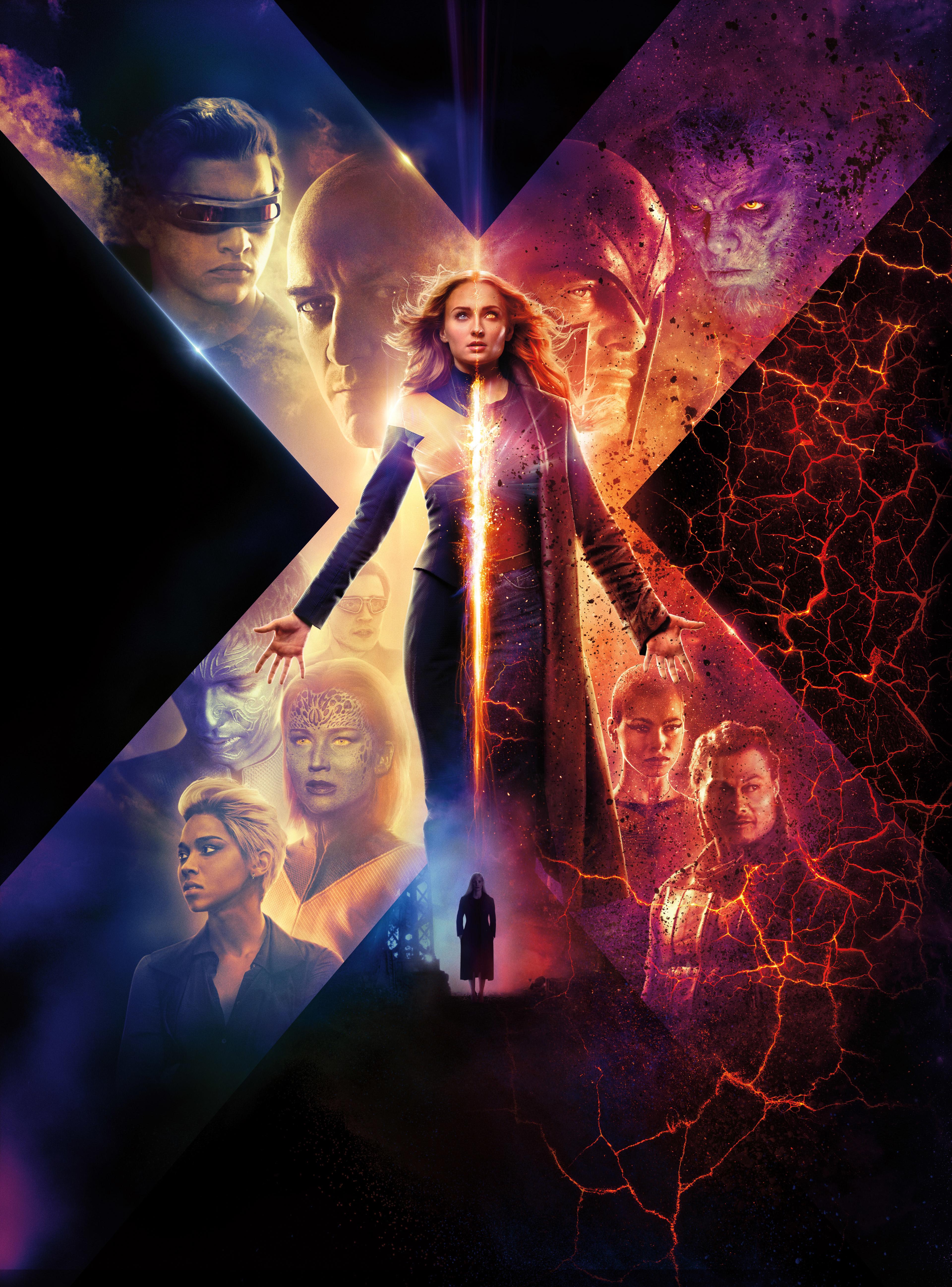 Free Download X Men Dark Phoenix 2019 Movie New Poster Wallpaper Hd Movies 4k 3840x5189 For Your Desktop Mobile Tablet Explore 57 X Men Movies Wallpapers X Men Movies