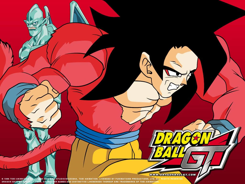 Son goku wallpaper wallpapersafari - Dragon ball gt goku wallpaper ...