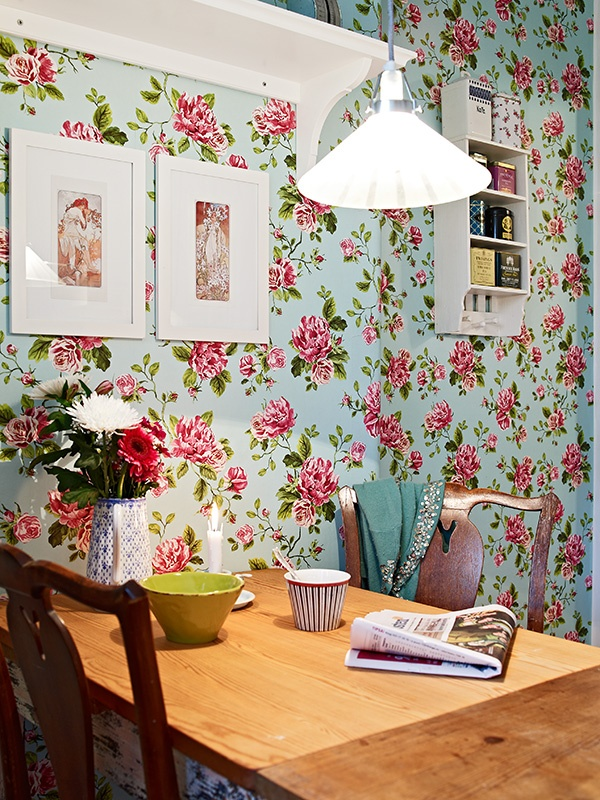 Betsey Johnson esque wallpaper House Ideas Pinterest 600x800