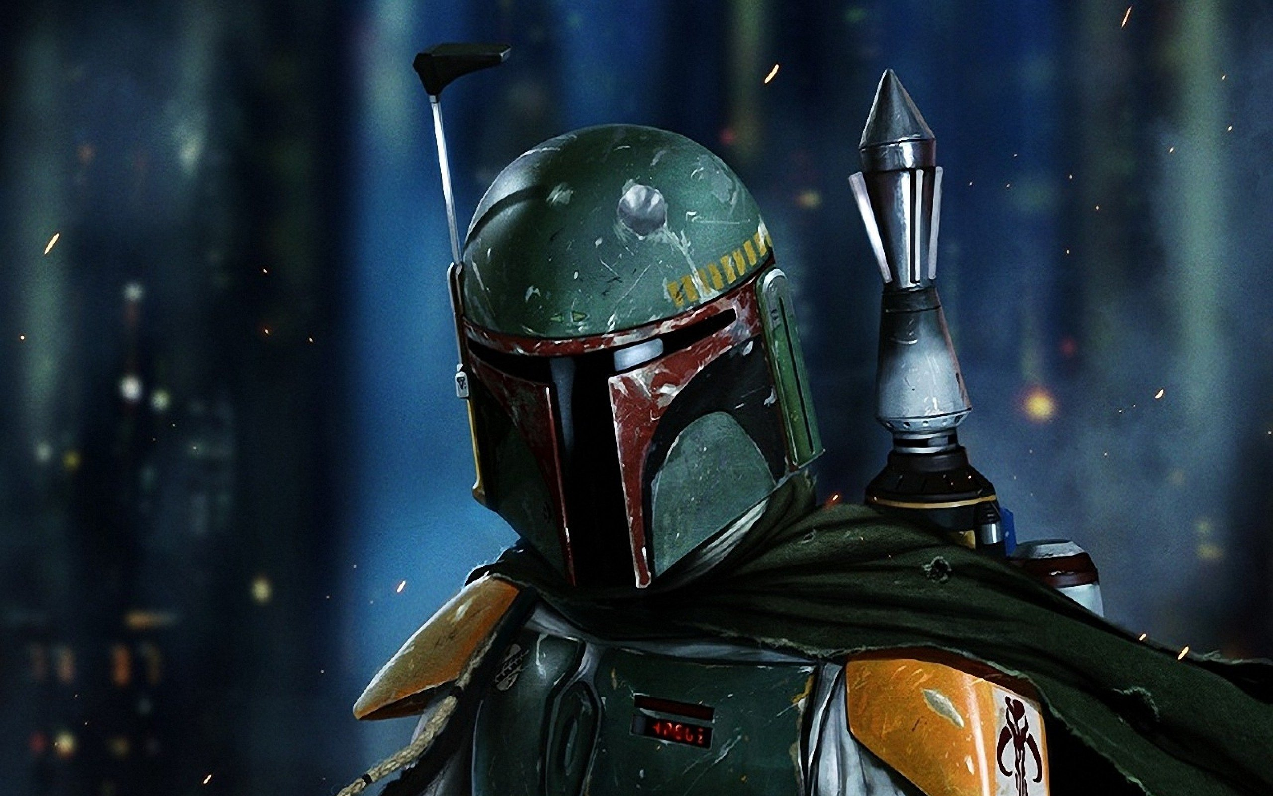 Fox Racing V3 Star Wars Boba Fett Helmet Limited Edition 2560x1600