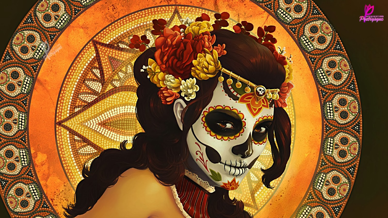 Sunday Of The Dead Festival 2013 Wallpapers With Quotes Poetry 1600x900