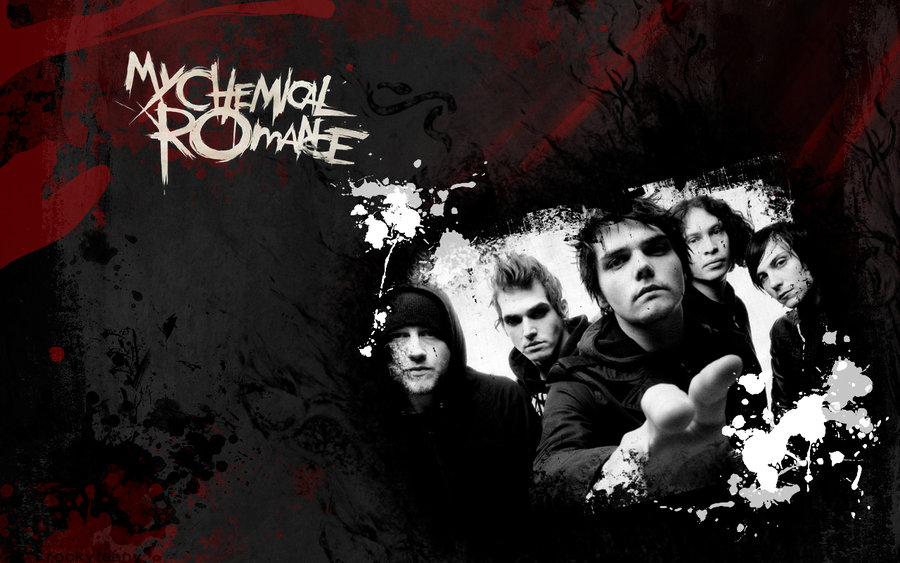 My Chemical Romance Wallpaper by RockyTeeny 900x563