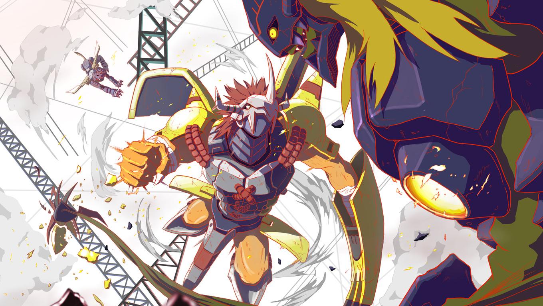 47 Digimon Wallpaper Hd On Wallpapersafari