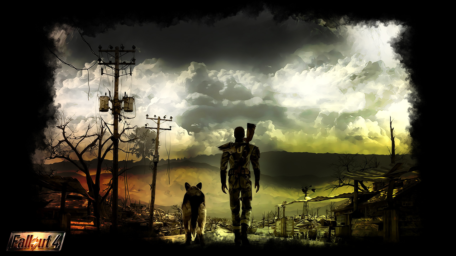 Wallpaper Fallout 4
