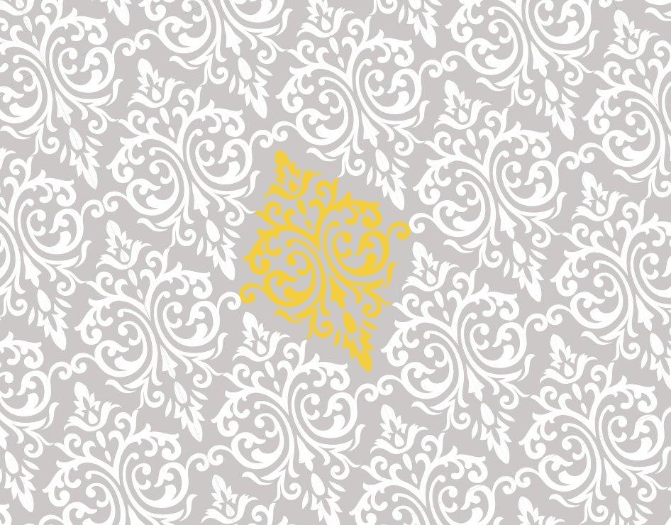 Yellow and gray chevron wallpaper wallpapersafari - Gray and yellow wallpaper ...