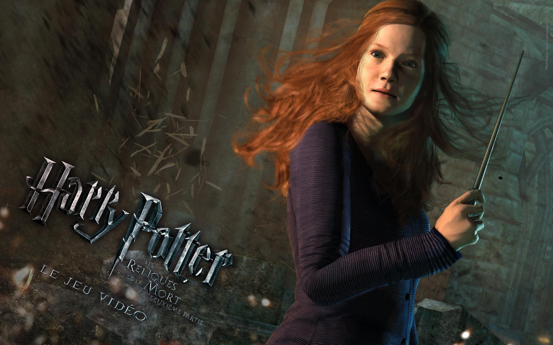 Ginny Deathly Hallows VG Wallpaper   Harry Potter Photo 22707324 1920x1200