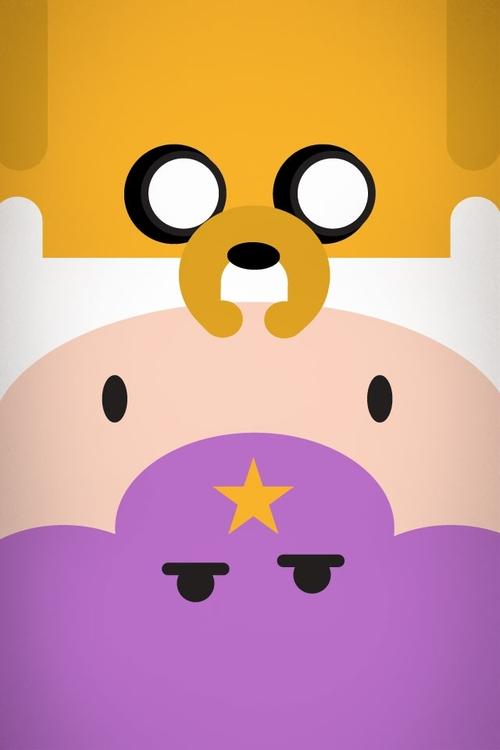 Adventure Time iPhone 4 Wallpaper 4iPhoneWallpaperscom We 500x750