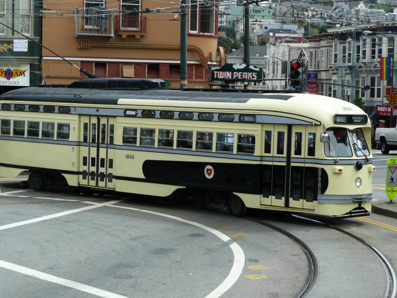 San Francisco Cable Car 1601x1200